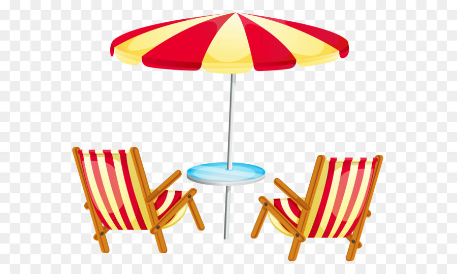 deckchair beach stock photography clip art transparent beach rh kisspng com beach umbrella pictures clip art beach chair umbrella clip art