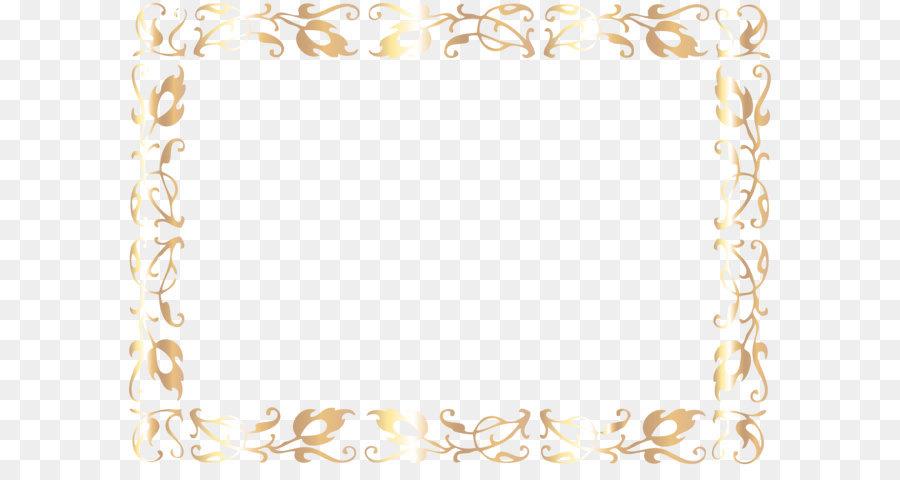 Clip art - Border Deco Frame PNG Clip Art Image Formatos De Archivo ...