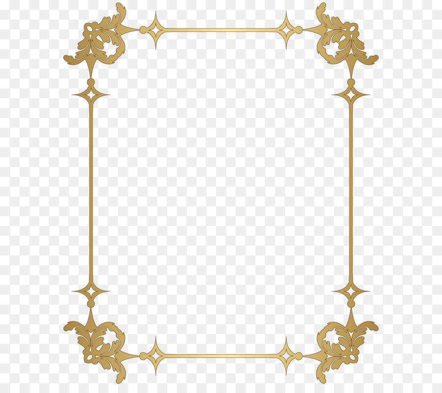 Picture frame Clip art - Border Frame Decoration Transparent PNG ...