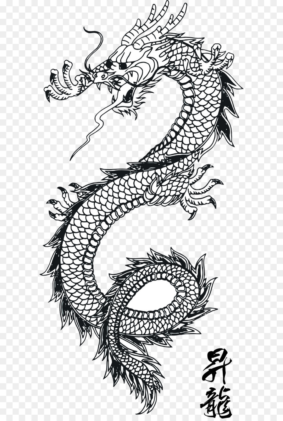 japanese dragon japanese art chinese dragon black tattoo