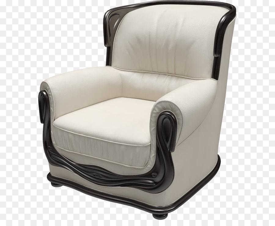 Flügel Stuhl Couch Möbel Weiße Sessel Png Bild Png Herunterladen