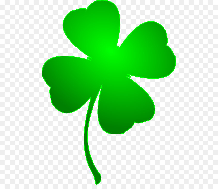 Four Leaf Clover Luck Clip Art