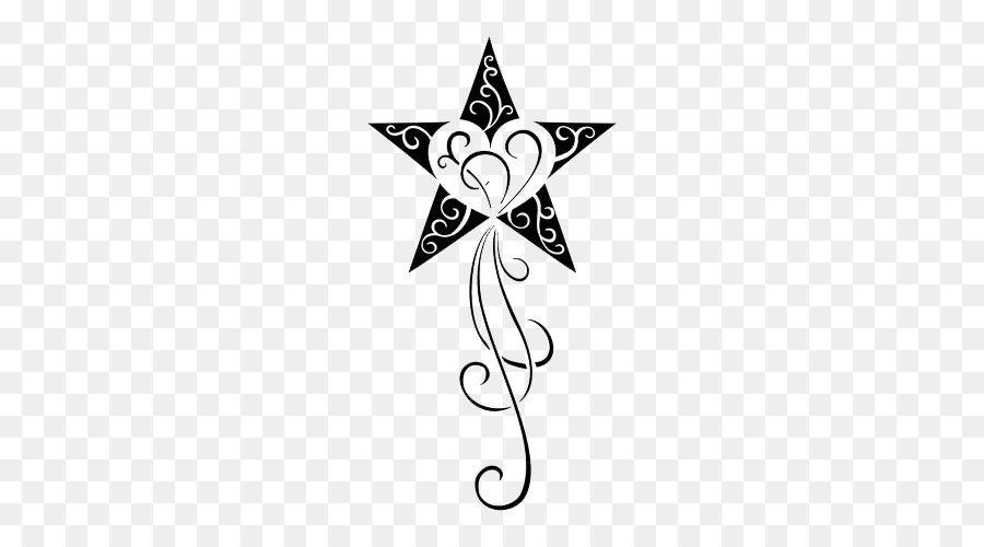 Tattoo Nautical Star Clip Art Star Tattoos Transparent Png
