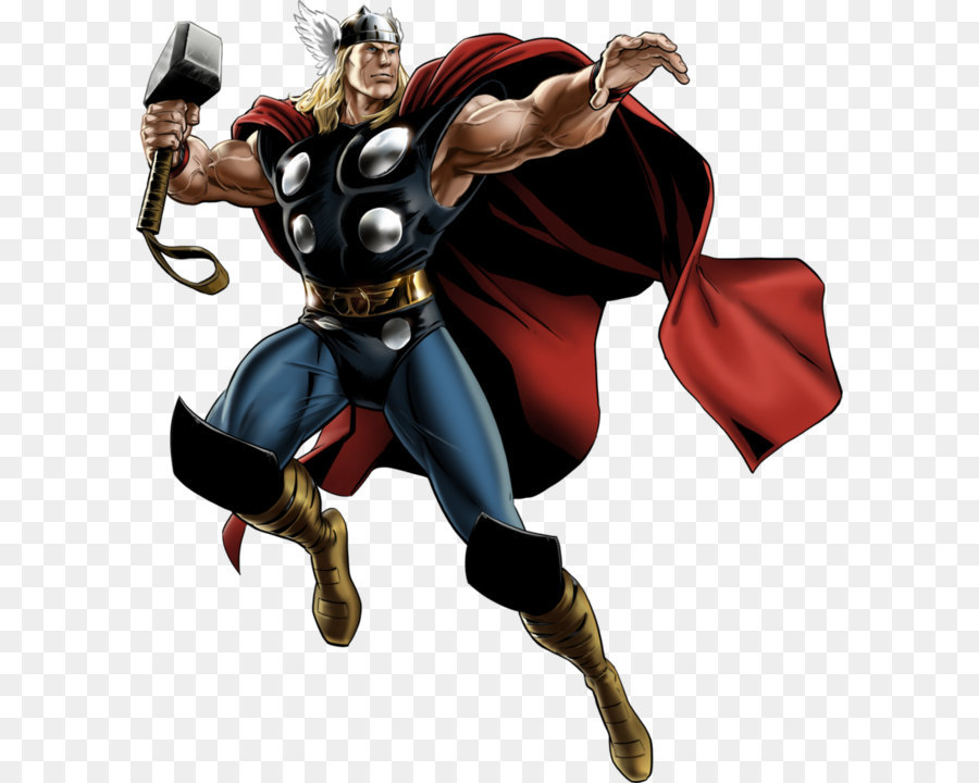 Download Thor Png: Marvel: Avengers Alliance Thor Hulk Iron Man Marvel Comics
