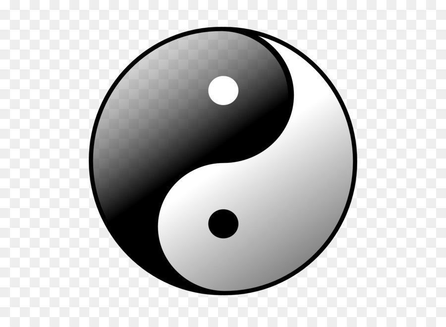 Black And White Yin And Yang Symbol Locanto Yin Yang Tattoos Png