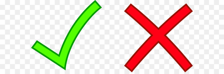 Check Mark X Mark Cross Clip Art Red Cross Mark Transparent Png
