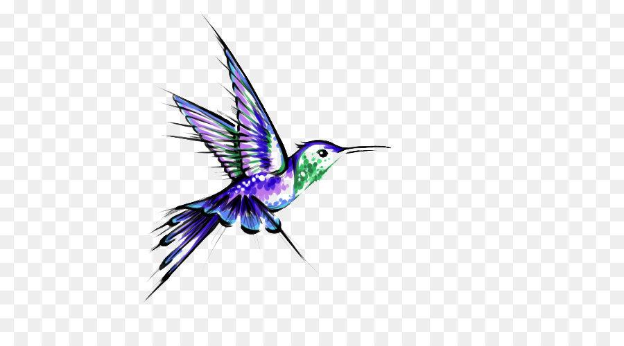 12b8d1f3b Hummingbird Tattoo Black-and-gray - Hummingbird Tattoos Transparent ...