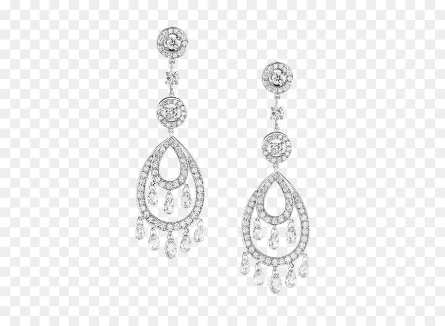 Line Art Earrings : Earring boucheron jewellery diamond pendant earrings png