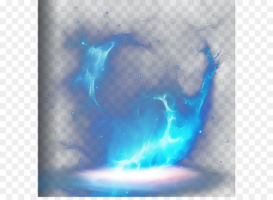 how to make blue flames in photoshop