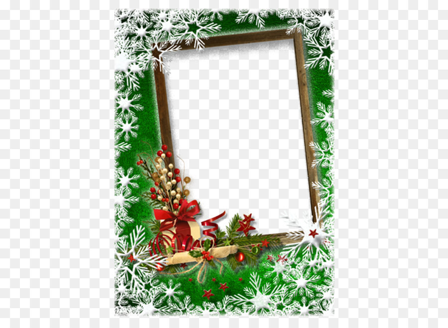 Christmas card New Year Picture frame Greeting card - Romantic ...