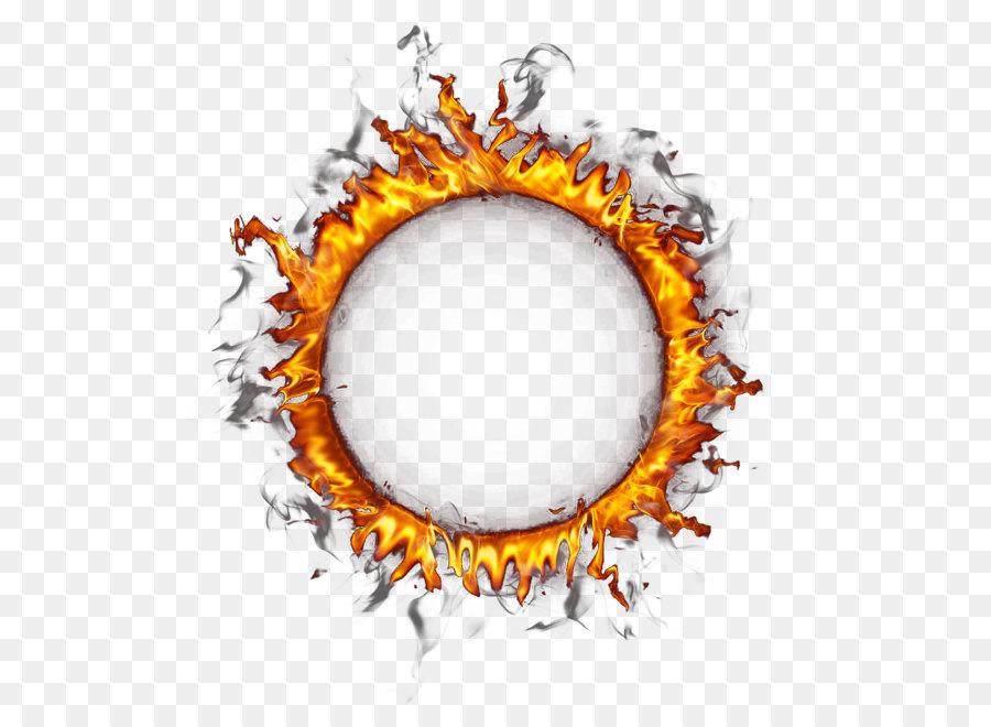 Lined Circle Ring