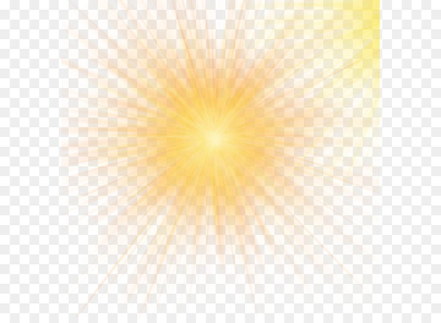 Sunlight Sky Yellow Pattern Yellow Light Effect Of Car