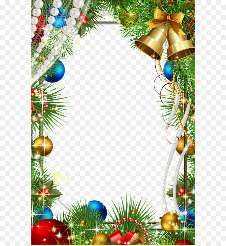 Christmas Decoration Picture Frame Christmas Frame Png Download