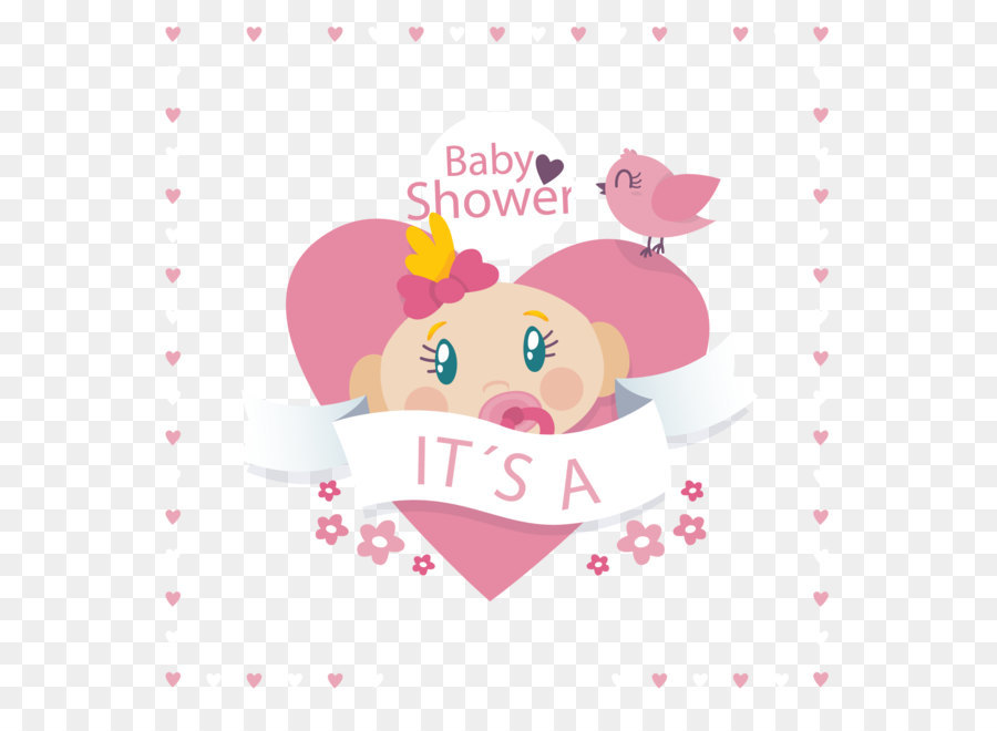 Baby shower Infant Illustration - Welcome baby infant party ...