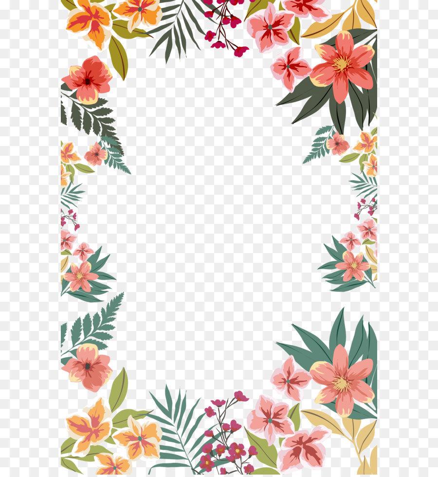 Flower paper clip art summer flower border shape png download flower paper clip art summer flower border shape mightylinksfo