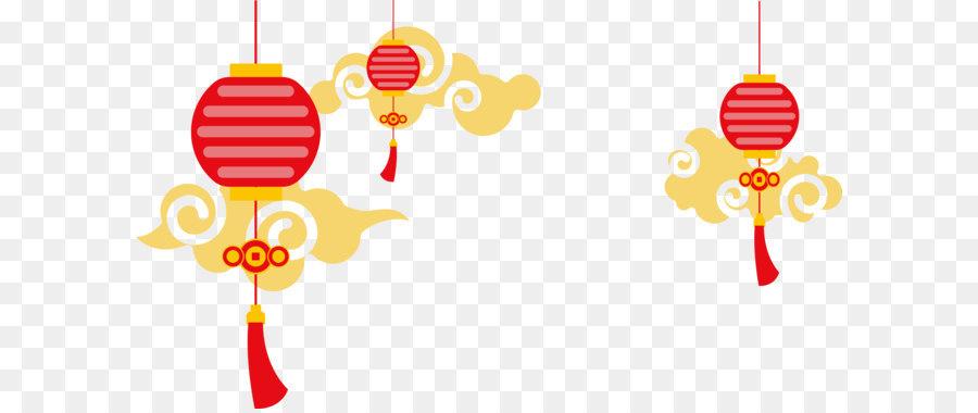 China Paper Lantern Euclidean Vector
