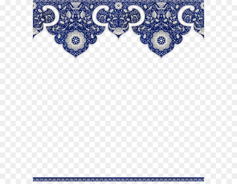 Floral pattern border png