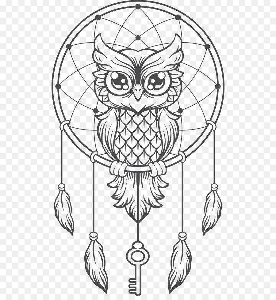 Dreamcatcher Owl Creative Haven Creative Kittens Coloring Book ...