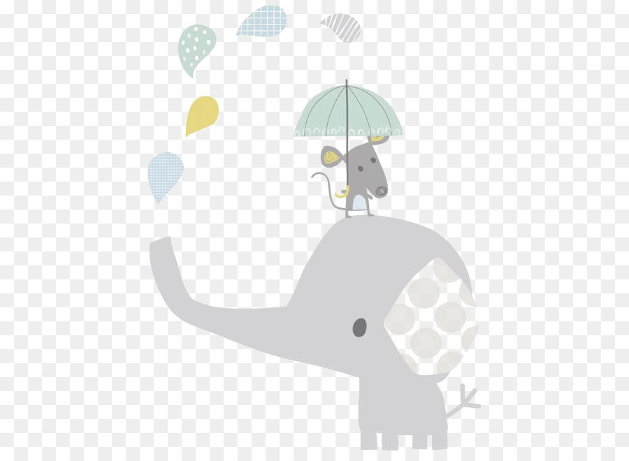 Elephant Infant Child Hathi Jr Illustration Cartoon