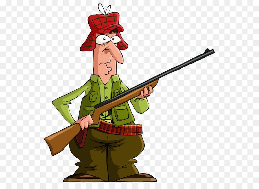 Deer hunting Clip art - Vector gun man png download - 1000 ...