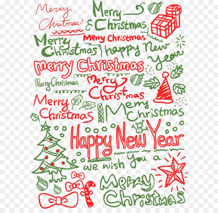 Arbol De Navidad En Ingles De La Carta De Ano Nuevo Verde Fondo De