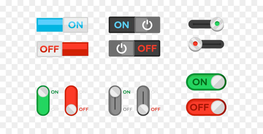 Switch Push-button Icon