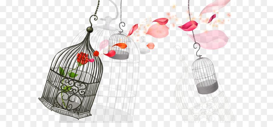 Cartoon Childrens Song Birdcage Cartoon Bird Cage Png Download