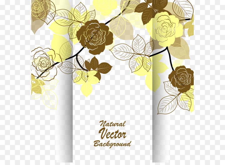Wedding invitation flower euclidean vector beach rose flowers wedding invitation flower euclidean vector beach rose flowers invitations vector stopboris Choice Image