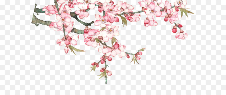 download pixel watercolor peach blossom peach tree png download 2197 1273 free transparent palm tree clip art free palm tree clip art transparent