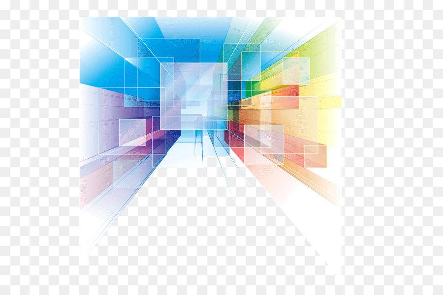 Abstract Art Euclidean Vector