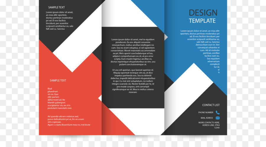 Marketing Brochure Flyer Template Flyer Png Download 27562057