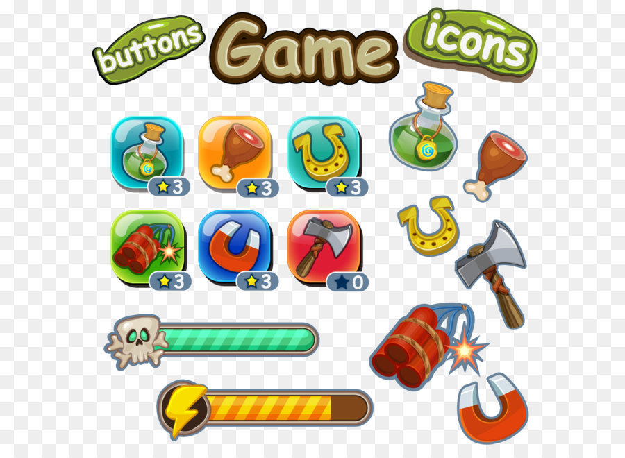 Game User Interface Button Game UI Design Of The Blood Online Game - Game design download