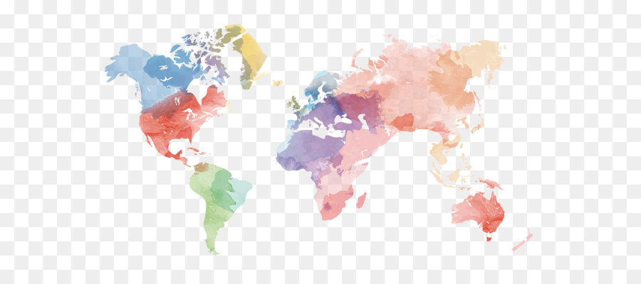Globe united states world map vector creative watercolor world map globe united states world map vector creative watercolor world map material gumiabroncs Images