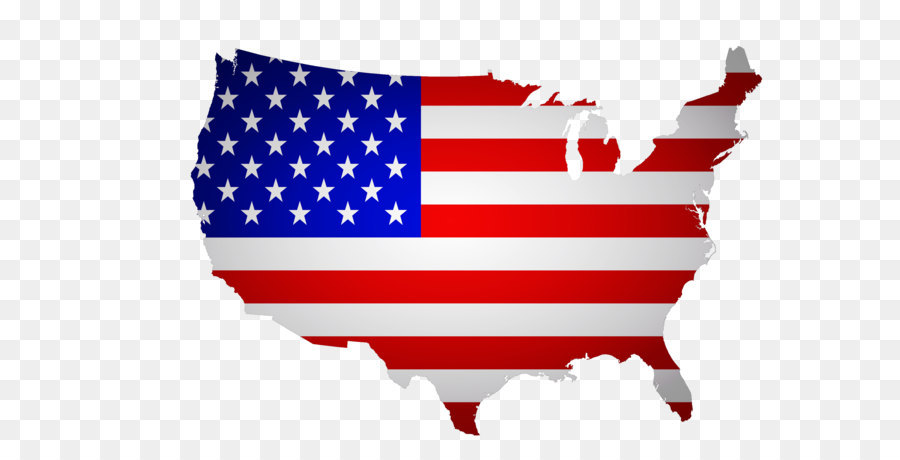 Map Of America Png.Florida Flag Of The United States Map Creative American Flag Map