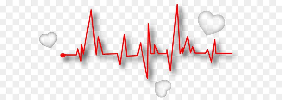 line euclidean vector heart rate pulse