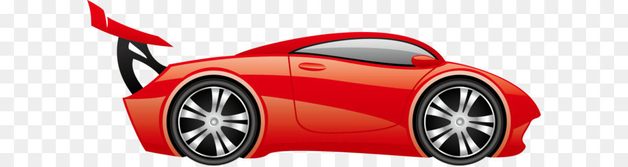 Sports car Cartoon - Luxury cars car decoration png download - 2931 on