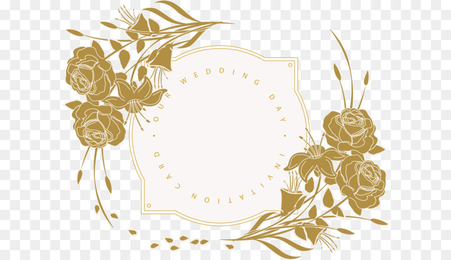 Wedding invitation Flower Floral design Wedding Invitation Card