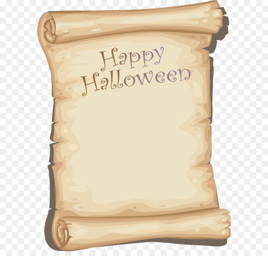 De Papel De Halloween - Vector De Feliz Halloween Formatos De ...