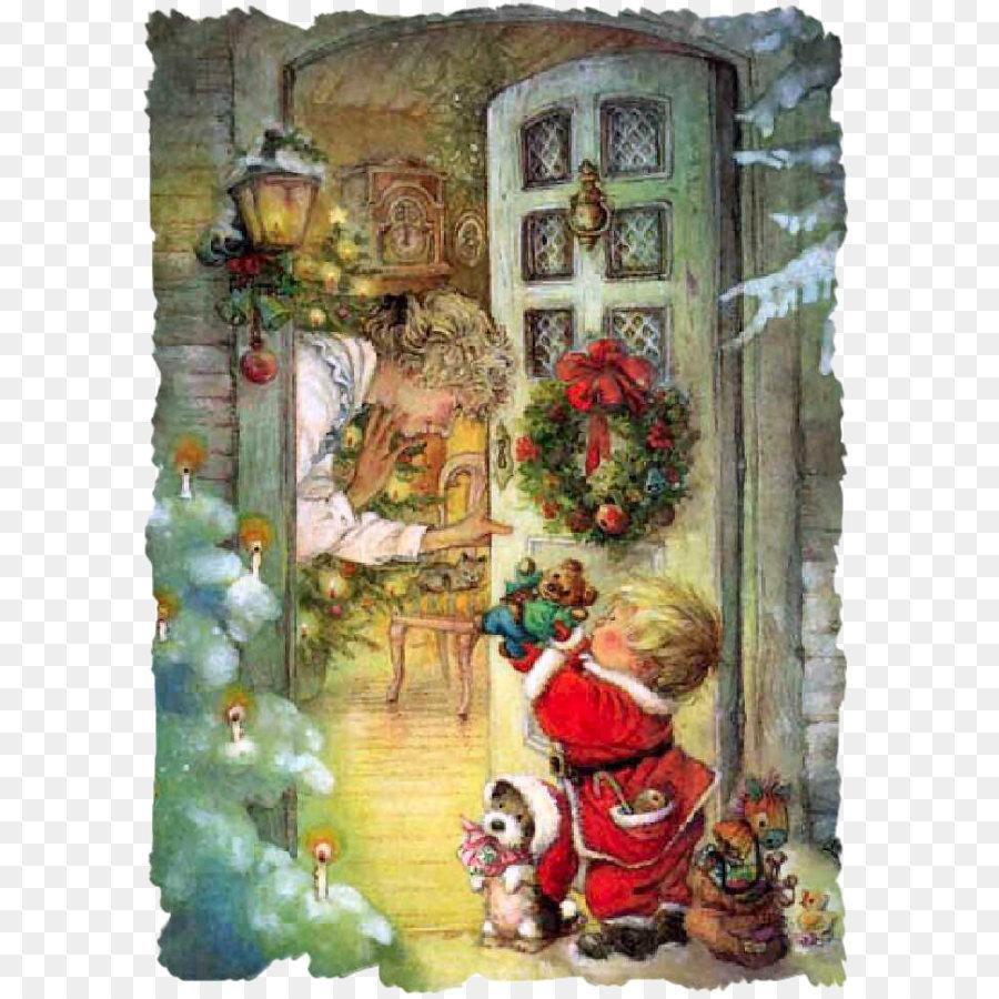 Christmas card Greeting card Postcard Child - Christmas gifts old ...