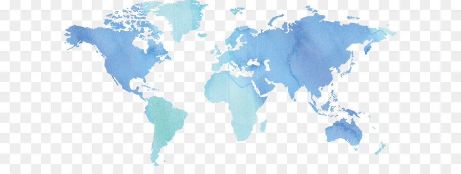 Globe World Map Ink World Map Png Download 2652 1323 Free