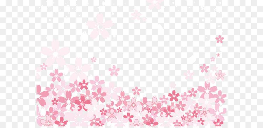 Textile Pink Pattern Sakura Illustration Background Material