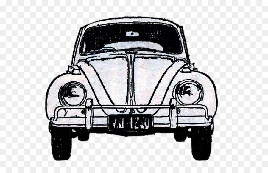 Volkswagen Beetle Car Ford Model T - Vintage car png download - 1280 ...