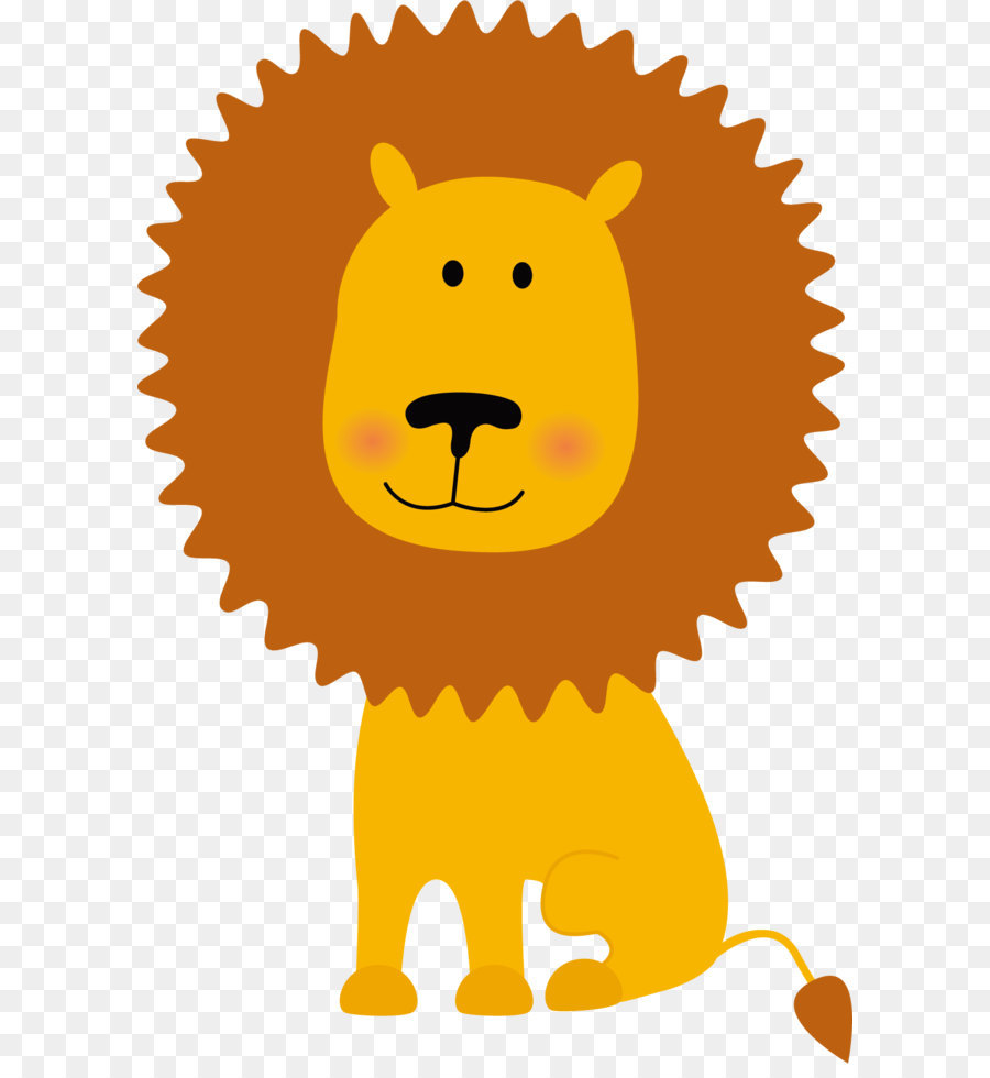 Yellow lion logo - photo#53