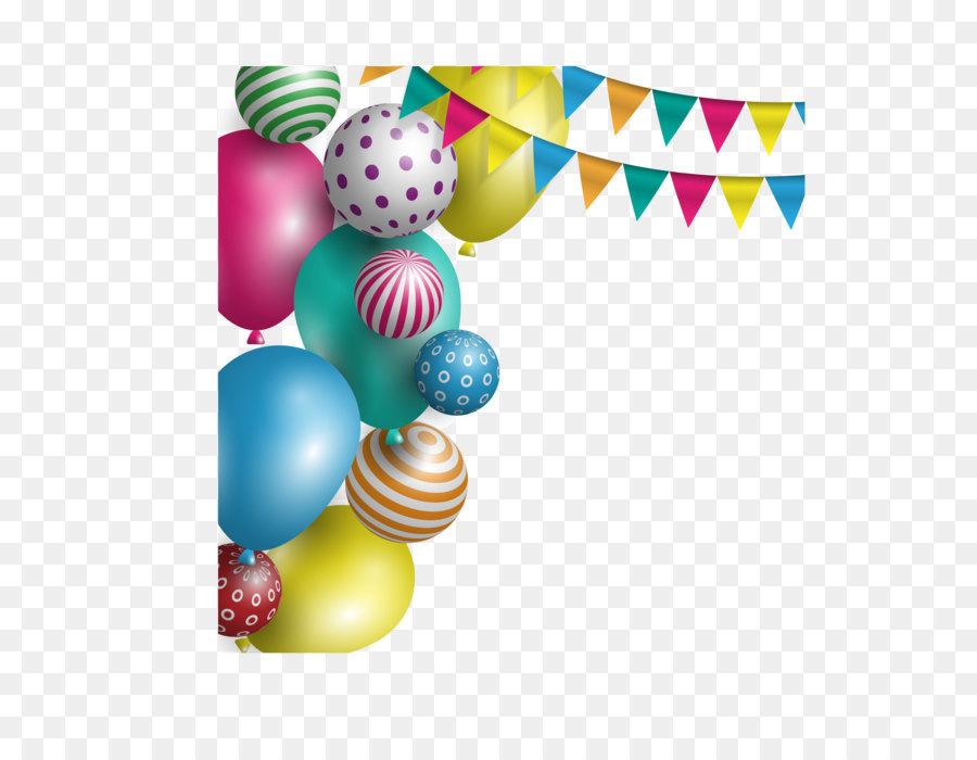 Ballon Party Geburtstag Urlaub Vektor Weihnachten Neujahr Urlaub
