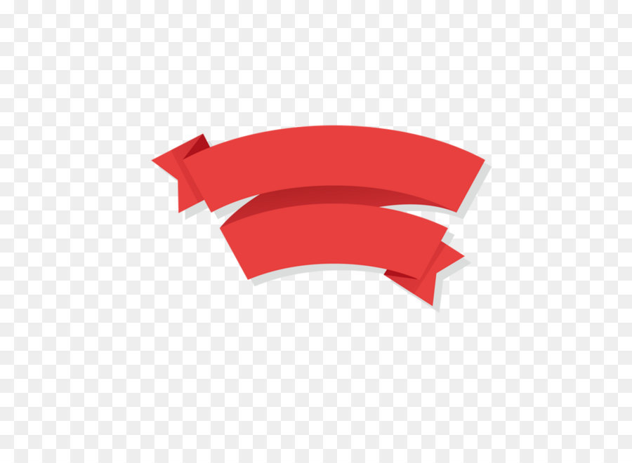 Ribbon Logo Clip art - Cartoon ribbon with red decorative frame png ...
