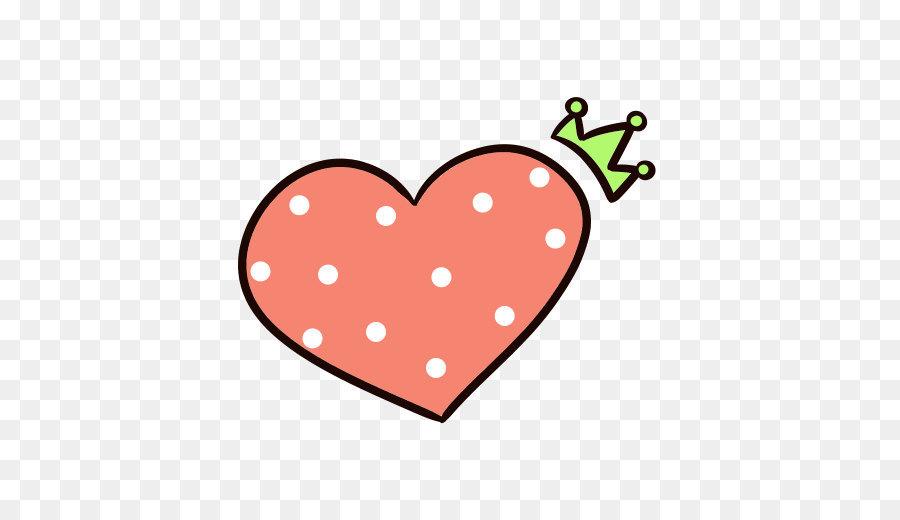 Pink sticker red love