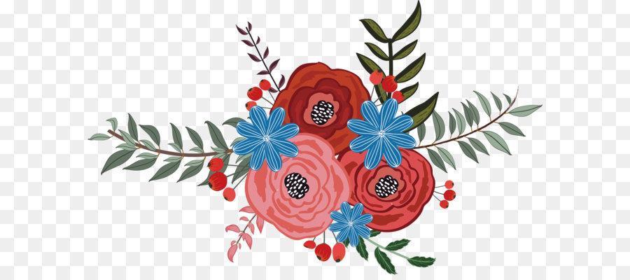 Flower Vector Png Image Purepng: Euclidean Vector Flower Floral Design