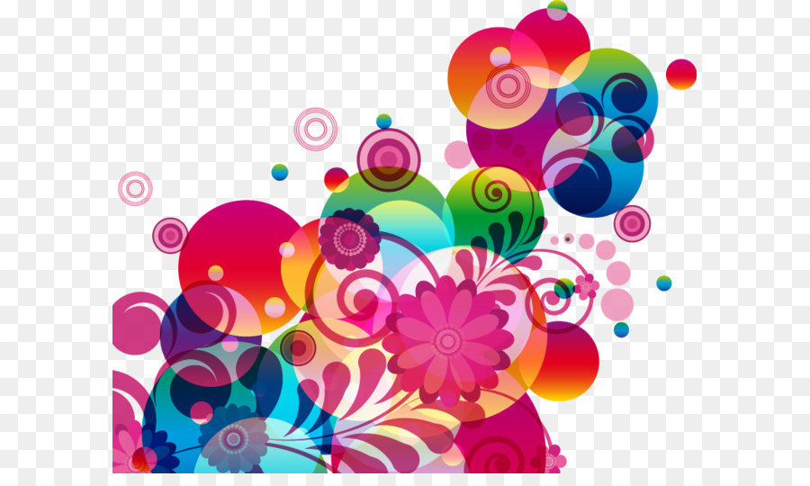 Abstraction Flower Clip Art