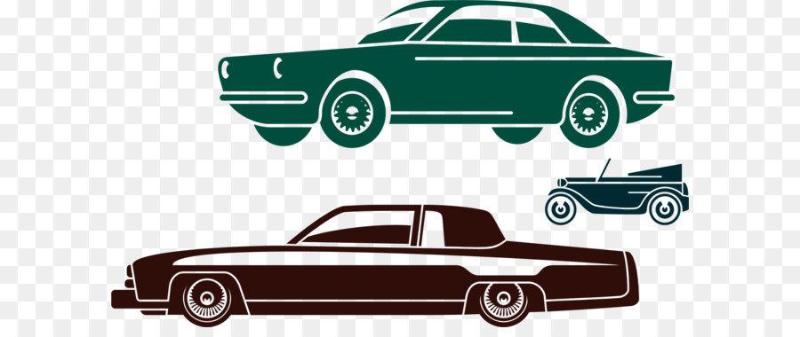 car dealership classic car car posters png vector elements