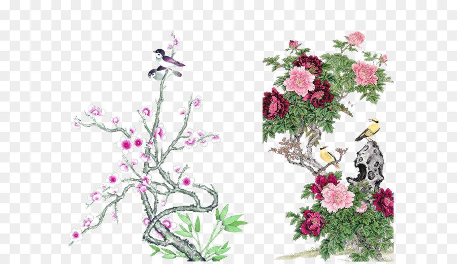 Chinese painting bird and flower painting silk hanging scroll chinese painting bird and flower painting silk hanging scroll chinese style bird material mightylinksfo